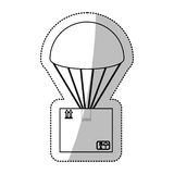 Airmail shipping delivery. Icon vector illustration graphic design Stock Image