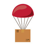 Airmail shipping delivery. Icon vector illustration graphic design Royalty Free Stock Image