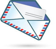 Airmail. Vector illustration of the Airmail Royalty Free Stock Image
