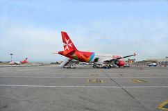 Airmalta Planes Stock Image