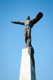 Airmen statue Stock Photo