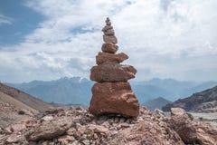 Airn de pedra do ¡ de Ð nas montanhas Fotos de Stock