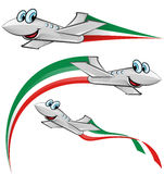 Airoplane cartoon Royalty Free Stock Images