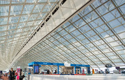 Airoport de Charles de Gaulle, Paris, França Fotografia de Stock