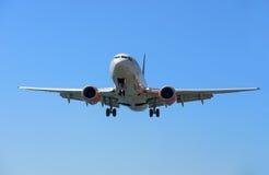 Airpane в полете Стоковая Фотография