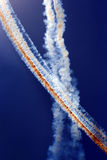 Airplane Traces Abstract Royalty Free Stock Image