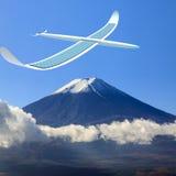Airpanels de energía solar Imagen de archivo