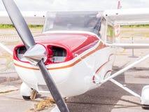 Airplain jato privado, exposição em Riga Imagens de Stock Royalty Free