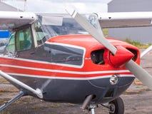 Airplain jato privado, exposição em Riga Fotos de Stock Royalty Free