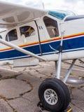 Airplain jato privado, exposição em Riga Foto de Stock Royalty Free