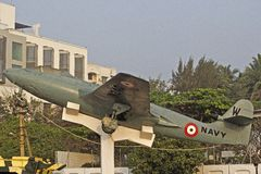 Airplain militar indiano Fotos de Stock