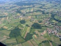 Airplaine Ansicht Lizenzfreie Stockbilder