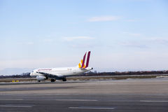 Airplaine de Germanwings Imagem de Stock Royalty Free