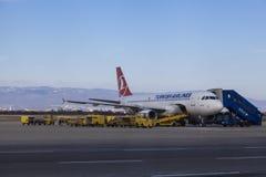 Airplaine de Germanwings Fotos de archivo
