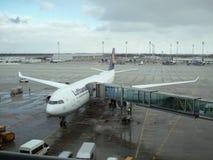 Airplaine de Lufthansa Imagens de Stock Royalty Free
