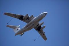 airplains awacs轰炸机军事俄语 库存照片