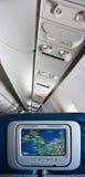 airplan интерьер стоковое изображение