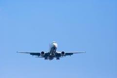 Airplan nel cielo Fotografia Stock Libera da Diritti