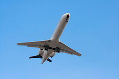 Airplan in the Sky. A Photo of Airplan in the Sky Royalty Free Stock Photo