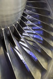 Airplan Turbo-jet engine, close up Royalty Free Stock Images