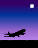 Airplane. Illustration of airplane vector illustration