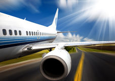 Airplane Royalty Free Stock Photo