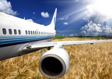 Airplane Royalty Free Stock Photos
