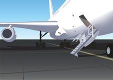 Airplane royalty free illustration