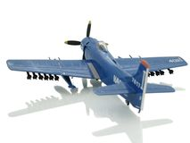 Airplane. Fighter airplane on white background royalty free stock photos