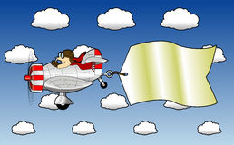 Airplane_2 Royalty Free Stock Images