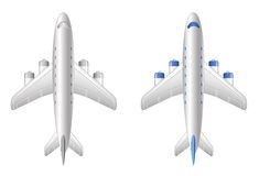 Airplane. Aircraft  icon plane Royalty Free Stock Image