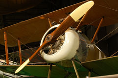 Airplane. Sopwith Camel F-1. Early era,antique aircraft Royalty Free Stock Photos
