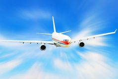 Airplane stock images