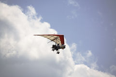 Airplane. Ultralight airplane Royalty Free Stock Images