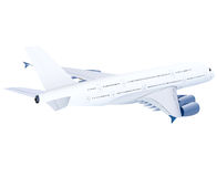 Airplane, aeroplane, plane Stock Images