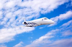 Airplane in air Royalty Free Stock Photography