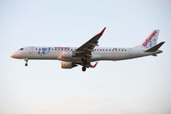 Airplane, Air Europa in Barcelona Stock Images