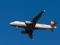 Airplane Airbus A319-100 Stock Images