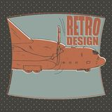 Airplane. aircraft, airline, transport, bomber Royalty Free Stock Image