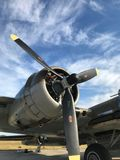 Airplane, Aircraft, Propeller, Aircraft Engine Royalty Free Stock Photography