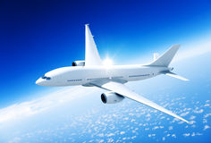 Airplane Aircraft Travel Business Transportation Concept Stock Photo