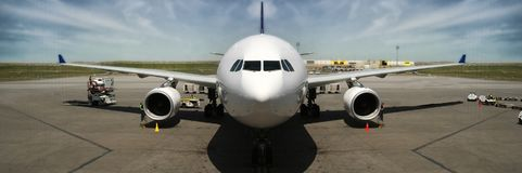 Airplane, Airliner, Aircraft, Wide Body Aircraft stock photos