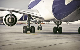 Airplane / Airport Royalty Free Stock Photography