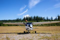 Airplane at the Airport royalty free stock images