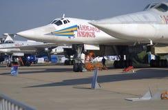 Airplane Alexander Novikov at MAKS International Aerospace Salon Royalty Free Stock Image