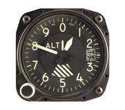 Airplane Altimeter Stock Images