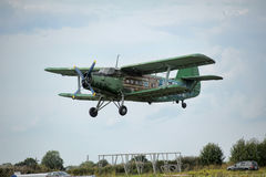 Airplane antonov an2 Stock Photography