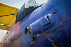 Airplane Antonov An-2 from Russia Royalty Free Stock Photos