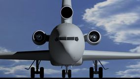 Airplane B Royalty Free Stock Images
