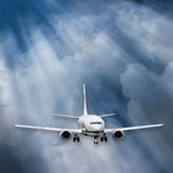 Airplane Background Stock Images
